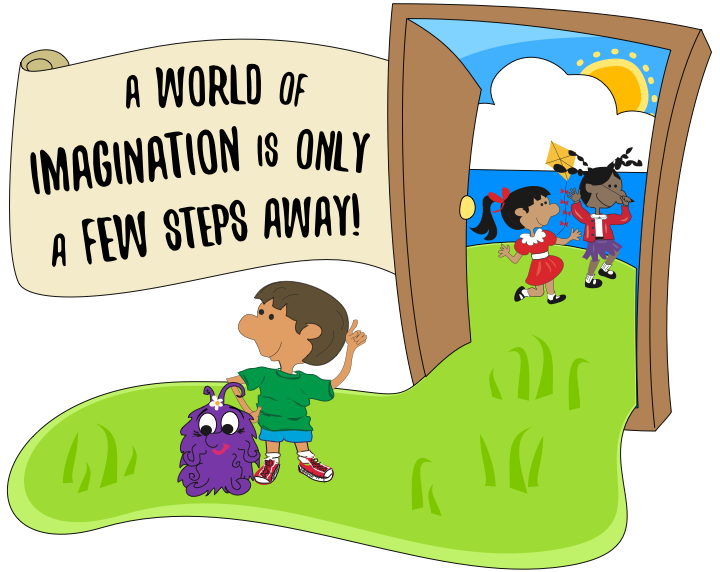 A world of imagination is only a few steps away!